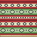 ABAKUHAUS Fiesta Stoff als Meterware, Mexikanische Decke