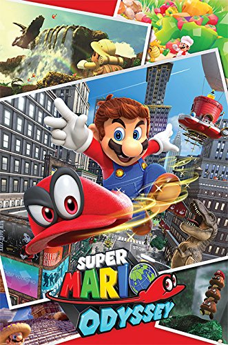 Super Mario Odyssey 'Collage' Maxi Poster,61 x 91.5 cm