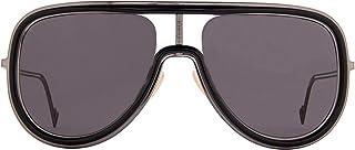 FENDI - Gafas de Sol FUTURISTIC FF M0068/S BLACK/DARK GREY 57/19/145 hombre