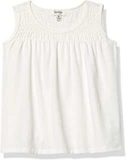 Speechless girls Sleeveless Top with Smocked Yoke T-Shirt