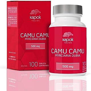 Kapok Naturals Camu Camu, 100x 500mg Wholefood Vitamin C Tablets. Use Camu Camu Powder to Boost Immunity, Liver Cleanse & ...