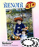 ViewMaster - Renoir Paintings in 3D - 3 Reels feature 21 images - NEW