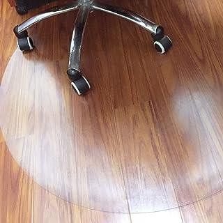 ping bu Alfombrillas para silla de PVC esmerilado, antideslizante, para oficina, sala de estar, protector de suelos duros (60 x 60 cm)