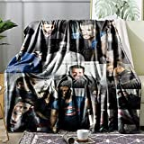 Blanket Movie Blanket Rug Soft Throw Fleece Blankets for Gift Bed Sofa 50'X40' Lightweight Flannel Blanket Bedding