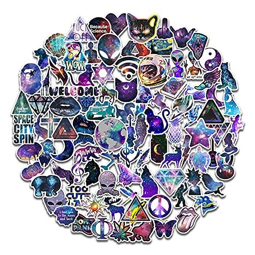 Dream Star Alien Pegatinas de Dibujos Animados Maleta Scooter Casco Papelería Creativa Pegatinas Decorativas 100 Zhang