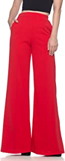Best red wide leg trousers Reviews