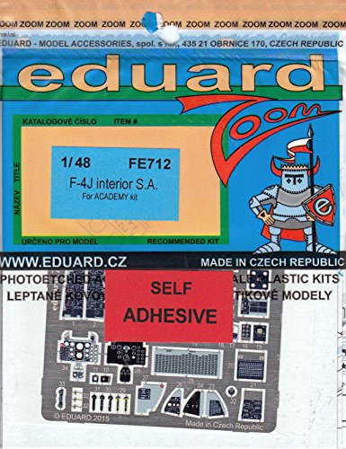 Eduard Photoetch (Zoom) 1:48 - F-4J Interior S.A (Academy)
