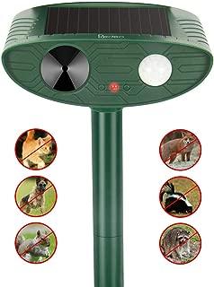 Redeo Ultrasonic Cat Repelelnt Animal Repeller Dog Deer Deterrent Outdoor Solar Powered with Motion Sensor Bird Control Scarecrow Garden Chaser
