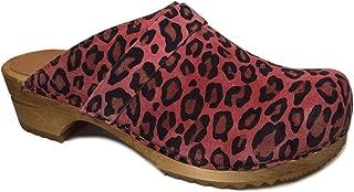 Suede Leopard' Sandy Printed Clogs (Art: 453699)