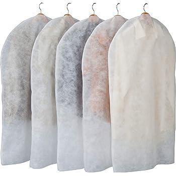 アストロ 洋服カバー 5枚 両面不織布 縫製仕上げ 110-60