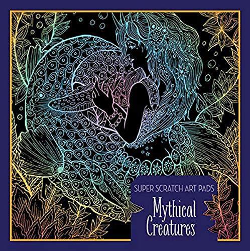 Super Scratch Art Pads: Mythical Creatures