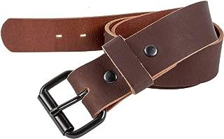 oxblood full grain leather belt