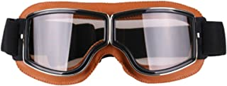 Aooaz Motorcycle Goggles Riding Padded Glasses Adjustable Strap
