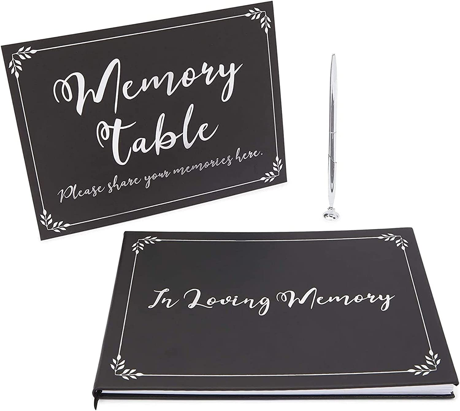 Faithful Finds Funeral Guest Book Pen Special Ranking TOP11 Campaign Table Sign Memorial and