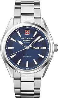 Reloj de pulsera Swiss Alpine Military de Grovana para hombre con mecanismo automático ETA 2836-2 y cristal de zafiro, 10 ATM, DayDate