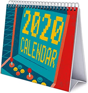 ERIK - Gameration 2020 Desk Calendar 2020 - 12 Months