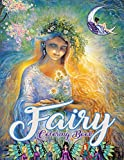Fairy Coloring Book: Over 40+ drawings of fairies, dragons & magical castles. For kids ages 3-8...