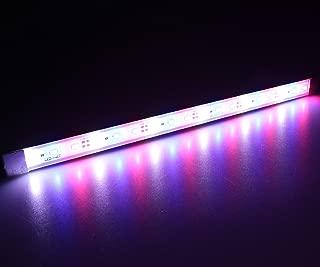 LEDENET Aquarium Coral LED Strip Light - Waterproof Aluminum 5730 LED Plant Grow Lights 12V DC Cold White + Blue + Red Color Bar lamp 30cm Long (12 Inch)