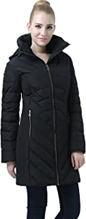 BGSD Women's Eva Hooded Waterproof Down Coat (Regular & Plus Size)