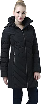 BGSD Women's Eva Hooded Waterproof Down Coat (Regular & Plus Size)