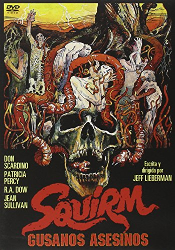 Squirm - Gusanos asesinos - Jeff Lieberman - Don Scardino.