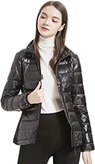 valuker Women's Lightweight Stretch Down Jacket with 90% Down Puffer Jacket