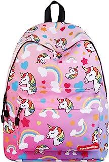IvyH Mochila Escolar Unicornio,Bolsas de Escuela para Niñas Niños Mochila para Estudiantes de Escuela Mochila de Viaje al Aire Libre para Adultos Mochila de Viaje para Uso Diario