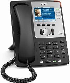 Snom 802.11 Wireless Business Phone with PoE, Black