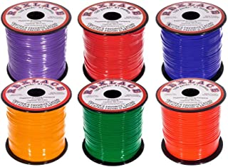 Craft County Rexlace Multicolor Bundle Packs – 100 Yards of Each Color (Primary)