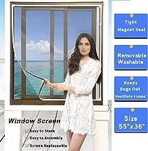 pass through window screen
