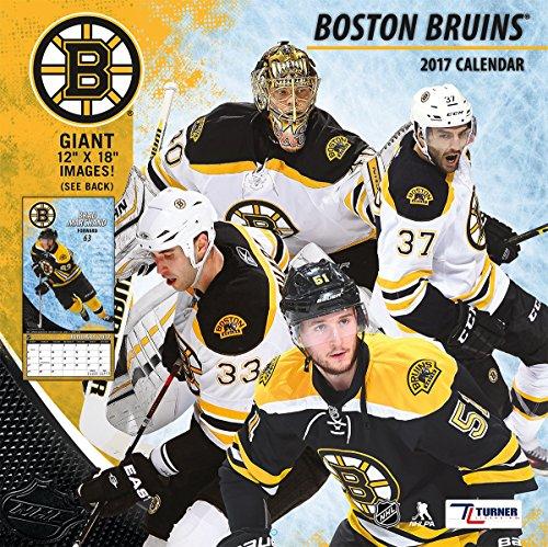 "Turner Licensing Sport 2017 Boston Bruins Team Wall Calendar, 12""X12"" (17998011932)"