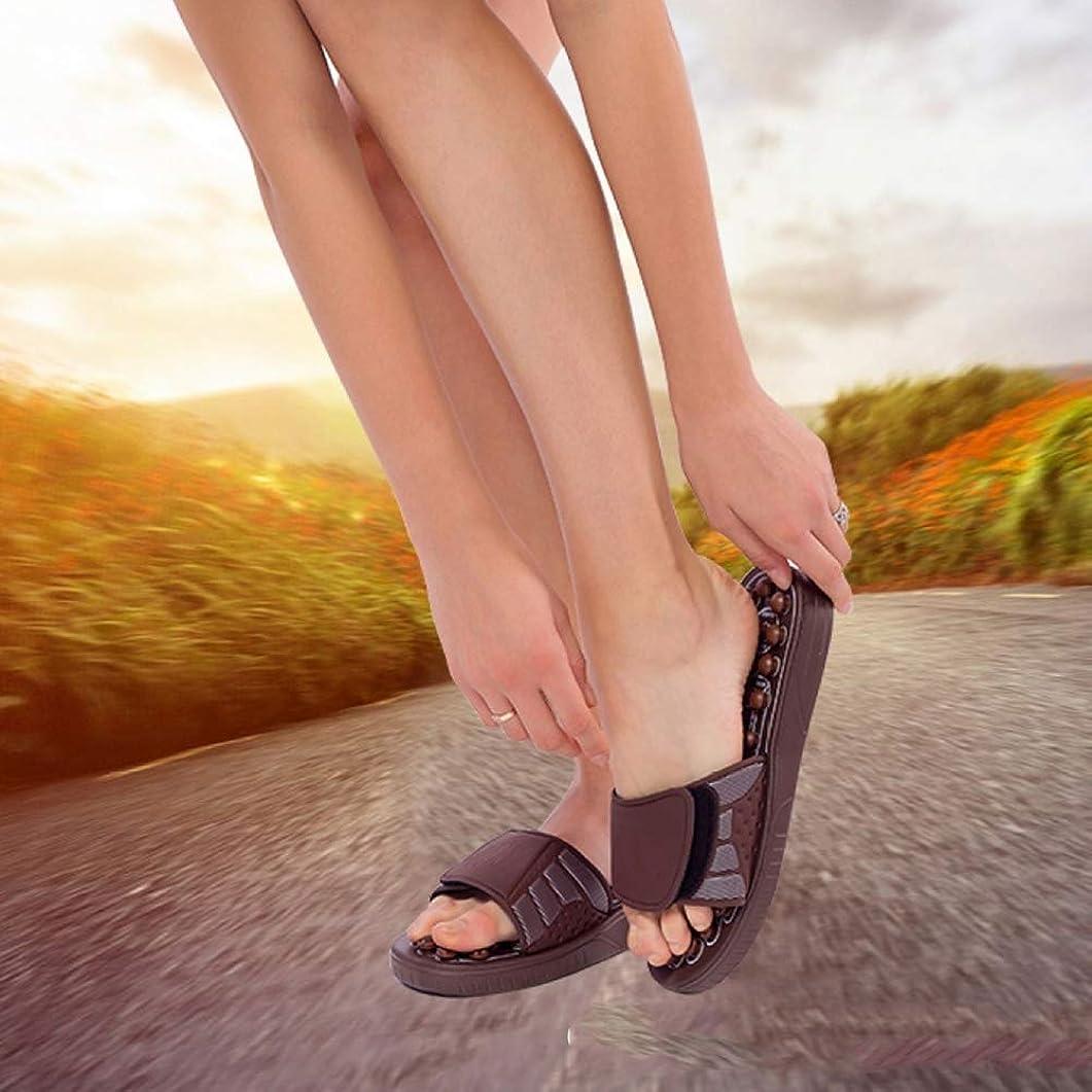マイナー溶けたコンテンポラリーマッサージスリッパ、春回転磁気療法マッサージ靴健康フィットネスツボ理学療法 足底筋膜炎を緩和する、ストレス、ヒール、アーチ痛,S