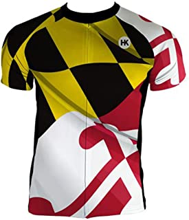 Hill Killer Maryland Flag Cycling Jersey Collection
