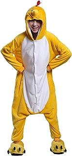 Unisex Adult Animal Costume Cosplay Pajama Chicken One Piece Pyjama