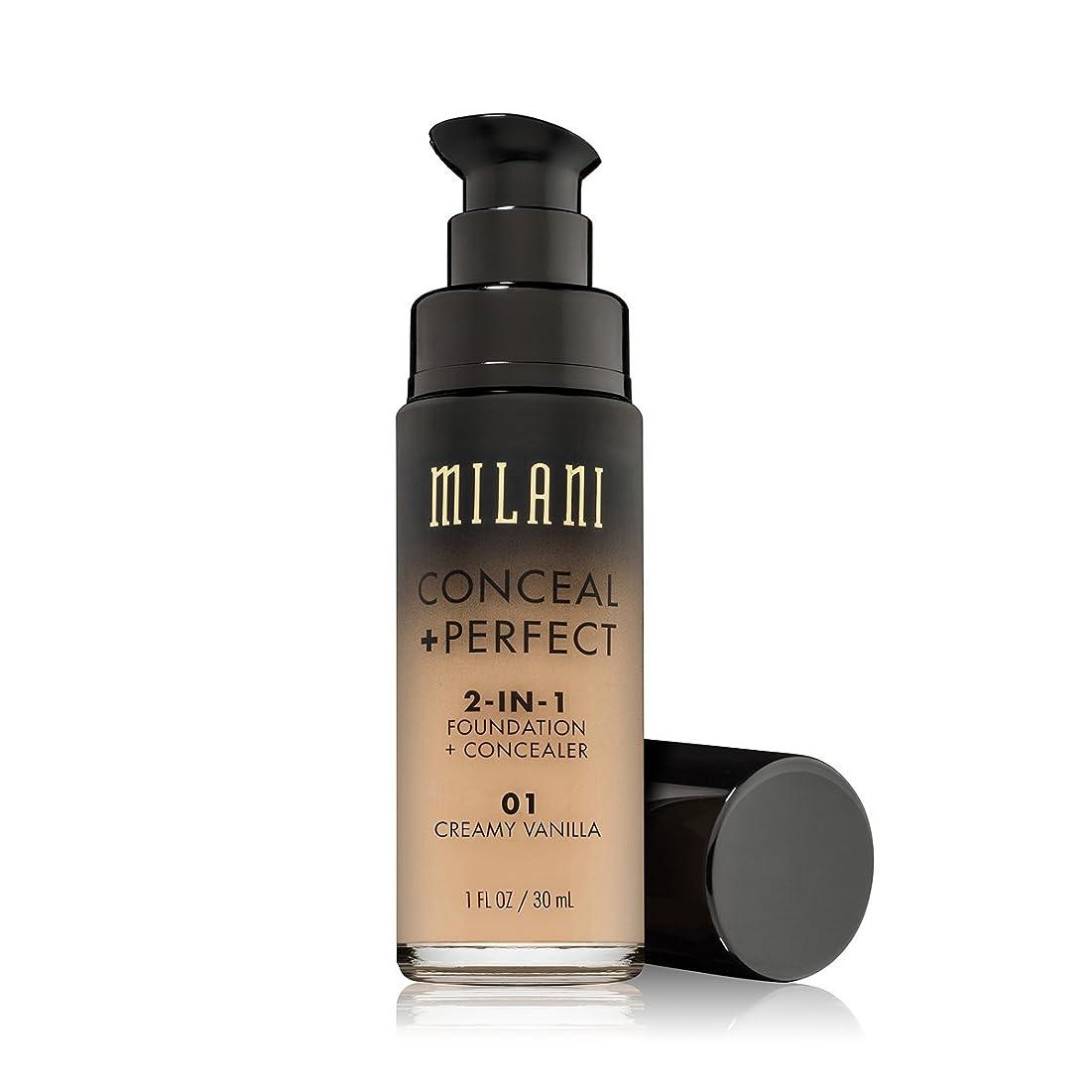 導入する手首通貨MILANI Conceal + Perfect 2-In-1 Foundation + Concealer - Creamy Vanilla (並行輸入品)