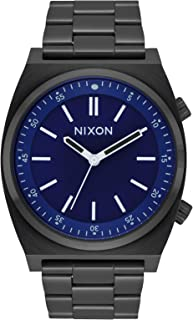 Nixon Brigade Men's Classic Field Stainless Steel Smart Watch (40mm. Stainless Steel Band)