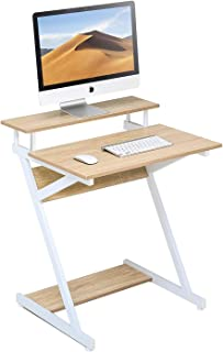 Computer Desk Table Laptop Writing Table Stand Workstation Table fit Studying/Eating/Gaming for Small Spaces, Computer Mob...