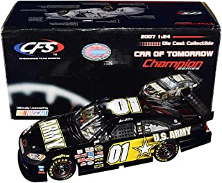 AUTOGRAPHED 2007 Mark Martin #01 U.S. ARMY (Car of Tomorrow) Nextel Cup (Ginn Racing) CFS Champion Series Signed 1/24 Scale NASCAR Diecast Car with COA (#0287 of only 1,250 produced)