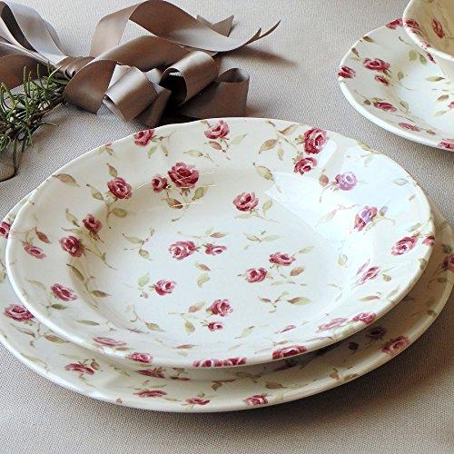 piatti servizio shabby chic Servizio piatti Blanc Mariclo 1 posto tavola Floret Full Collection