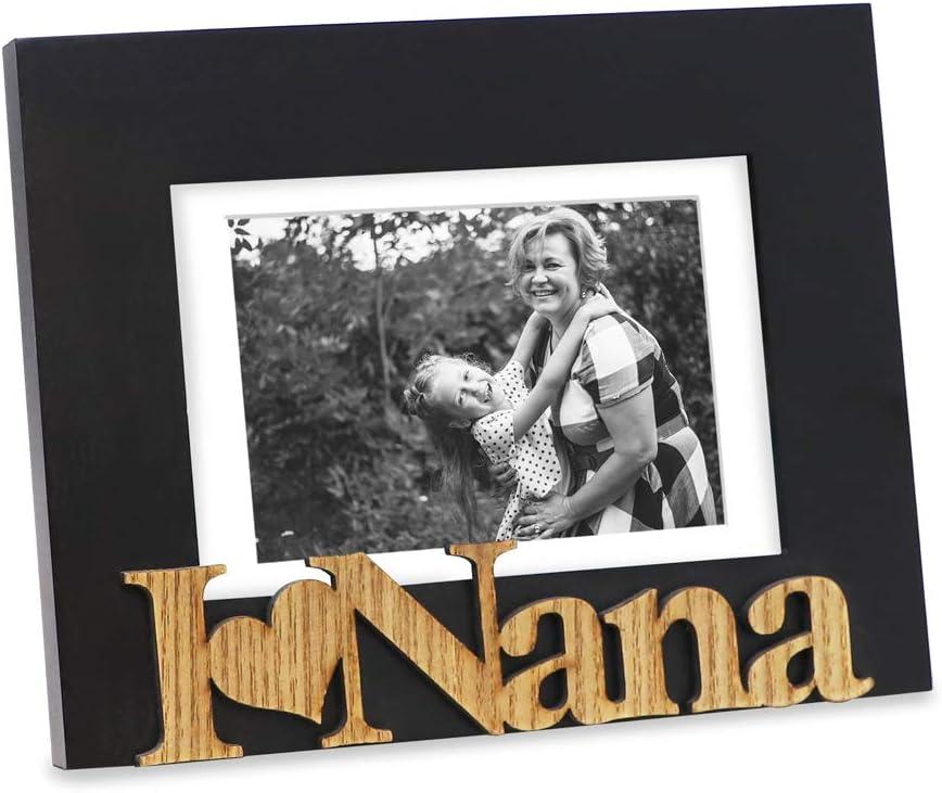 "Isaac Jacobs Black Max 90% OFF Wood Sentiments ""I Pictu Cheap bargain Love Nana"""