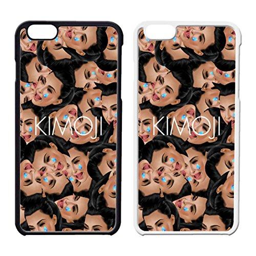 D5L7PCU Kim Kardashian Kimoji Cover iPhone Case Cover iPhone 6 Case or Cover iPhone 6S Black Plastic G6J0WVP