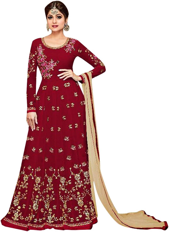 Bollywood Collection Anarkali Dresses for women Salwar Kameez Ceremony Wedding 910 2