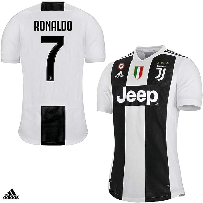 JUVENTUS Maglia Ronaldo Gara Home Authentic 2018/19 - Originale ...