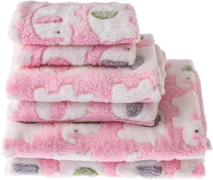 manta de algod/ón para gato accesorios para dormir tiaomao11 Coj/ín grueso suave de invierno c/álido para mascotas S, azul