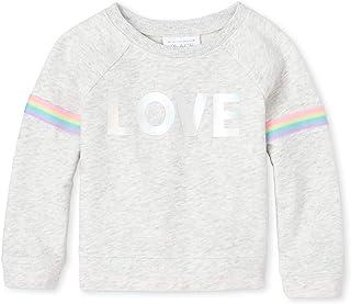 The Children's Place Baby Girls' Graphic Pop Over Sweatshirt