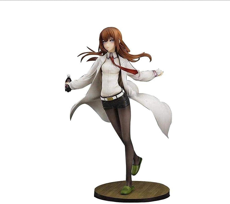 Gift Popular product Steins Gate: Makise Kurisu PVC Clothing Collec White price Figure