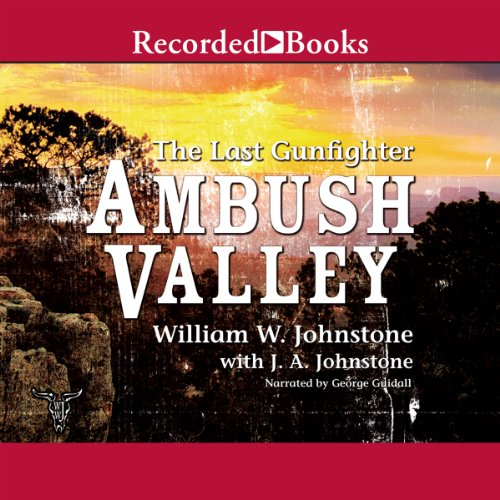 Ambush Valley audiobook cover art