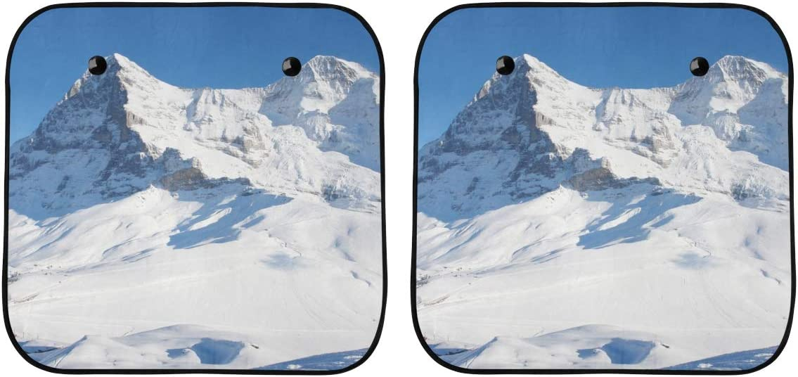 ENEVOTX Shades for Super Popular brand sale period limited Car Windows Ca Mountain Snow Winter Beautiful