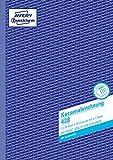 AVERY Zweckform 428 Kassenabrechnung (A4, mit MwSt.-Spalte, von Rechtsexperten geprüft, für Deutschland und Österreich zur ordnungsgemäßen, kostengünstigen Buchführung, 2x50 Blatt)