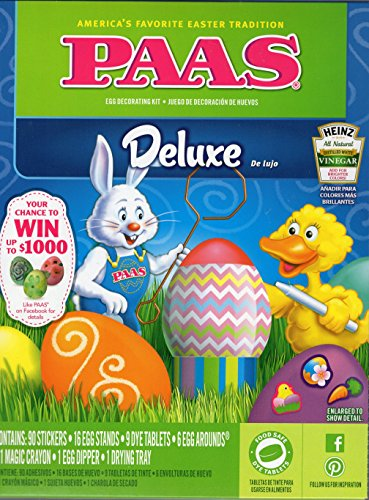 PAAS Friends Egg Decorating Kit,